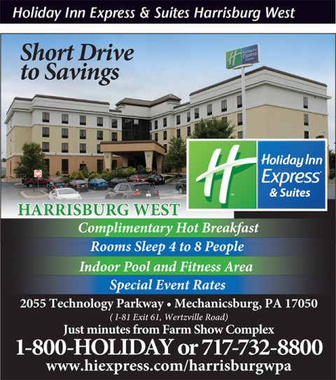 Holiday Inn Express  and Suites Harrisburg West