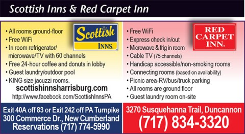 Scottish Inns and Red Carpet Inn