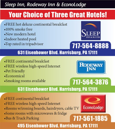Sleep Inn, Rodeway Inn and EconoLodge