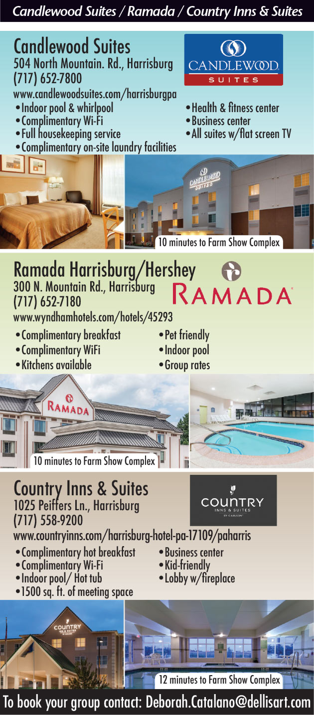 Candlewood Suites, Ramada, Country Inns and Suites