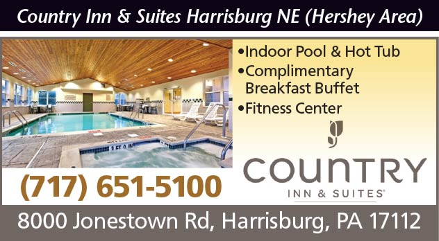 Country Inn and Suites Harrisburg NE (Hershey Area)