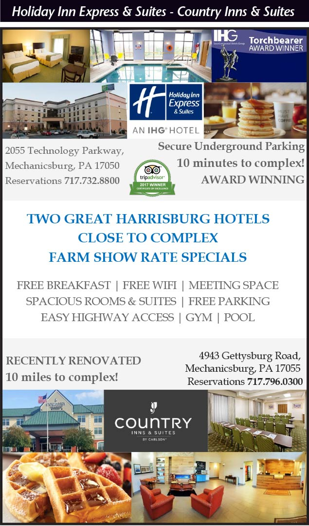 Holiday Inn Express and Suites, Country Inns and Suites