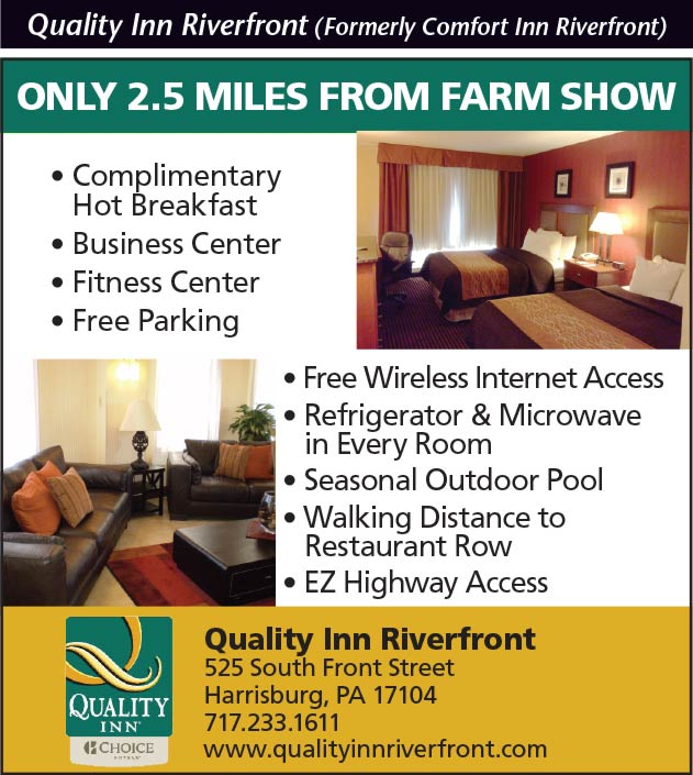 Quality Inn Riverfront (Formerly Comfort Inn Riverfront)