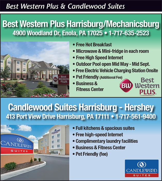 Best Western Plus and Candlewood Suites