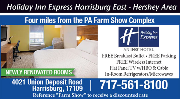 Holiday Inn Express Harrisburg East - Hershey Area